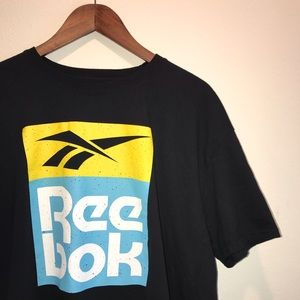 Reebok Classic Logo / Spellout Graphic T-Shirt